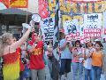 Repudio en Rosario a la salvaje agresi�n de la patota sindical de la Uni�n Ferroviaria
