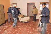 Trasladaron restos �seos ind�genas a instalaciones del Instituto de Educaci�n F�sica
