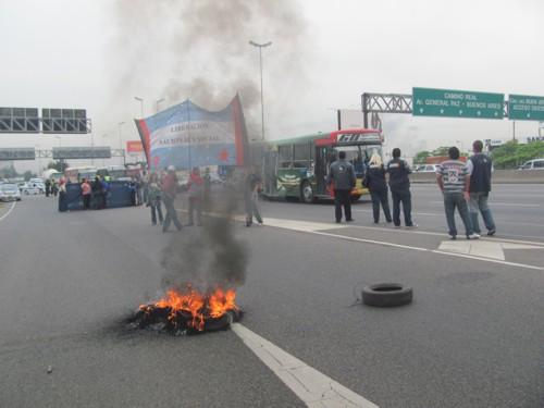 Protesta en el CEDAN...