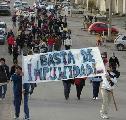 Puerto Deseado lucha por justicia y libertad
