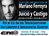 Movilizaci�n por Mariano Ferreyra