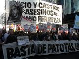 Marcha por Mariano Ferreyra