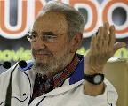 Fraternal encuentro de Fidel Castro con destacados intelectuales de Hispanoam�rica.