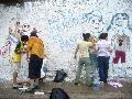 Mural en B� G�emes: No es merodeo, es paseo