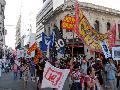 La Multisectorial repudi� en la calle la represi�n en Soldati