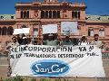SanCor: protestas en Buenos Aires y pronunciamiento del Senado