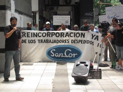 Protesta en Buenos A...