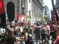 Rosario volvi� a manifestarse contra los asesinatos en Villa Soldati
