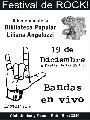 Festival a beneficio de la Biblioteca Popular Liliana Angelozzi