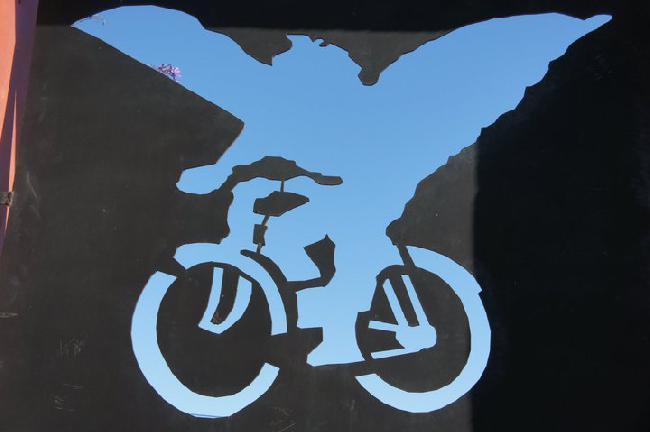 La bicicleta con ala...