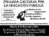 Jornada cultural por la educacion publica / sabado 4 de dic.