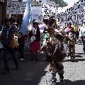 Salta: Movilizaci�n del Pueblo Tastil para frenar el desalojo de Las Cuevas