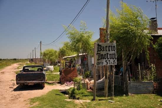 Barrio mocoví de Ber...