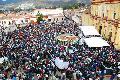 Cinco mil ind�genas despiden restos de obispo que intercedi� con zapatistas