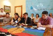 Avanzan en el convenio de construcci�n de viviendas para comunidades ind�genas