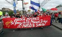 Otro a�o m�s de Resistencia en Honduras