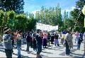 Movilizaci�n de la comunidad Sacamata-Liempich�n