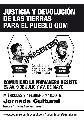 9/2: Jornada cultural en el acampe de resistencia Qom