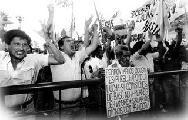 20 a�os de huelga que precipit� la crisis del viejo MAS