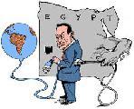 El apagon de internet en Egipto