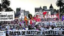 Mi�rcoles 16, acto contra las patotas en Lomas de Zamora. SITRAIC y otros...