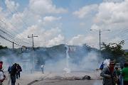 R�gimen arrecia represi�n contra manifestantes en el Norte de Honduras