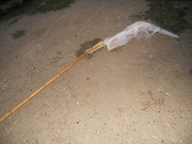 5 - Bandera quebrada...