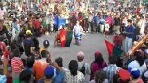 El arete guazu, una verdadera fiesta del pueblo guaran� junto a los pueblos originarios de
