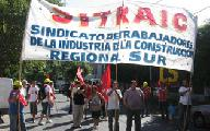 Quince obreros del SITRAIC fueron detenidos por frenar una obra