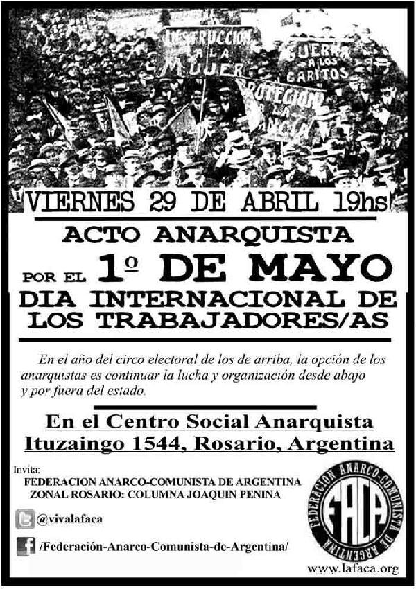 Acto Anarquista por ...
