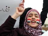 Viva la lucha del pueblo sirio, abajo la dictadura de Assad