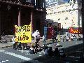 Protesta ante la Municipalidad de Rosario por despido de chofer de la SEMTUR