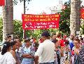Balan�o do ato de 1� de maio da conlutas na pra�a da s� - Sao Paolo