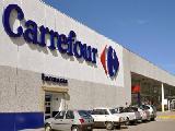 Jer�rquicos de Comercio bloquearon el Carrefour Vicente L�pez