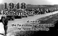 Basta de cr�menes del sionismo. Marchamos recordando el Nakba