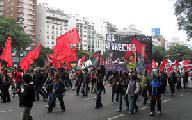 Actos por el 1� de Mayo en Buenos Aires