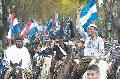 Uruguay: A caballo y a pie marcharon contra Aratir�
