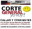 Trabajadores de Walmart Alto Avellaneda cortan Callao y Corrientes el viernes 12/08/2011