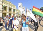 Se reanud� la marcha ind�gena en defensa del TIPNIS