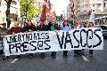 Organizaciones solidarias con el pueblo vasco protestaron ante entidad espa�ola en BsAires