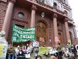 Campa�a por el Reconocimiento de ATE en el municipio de Rosario