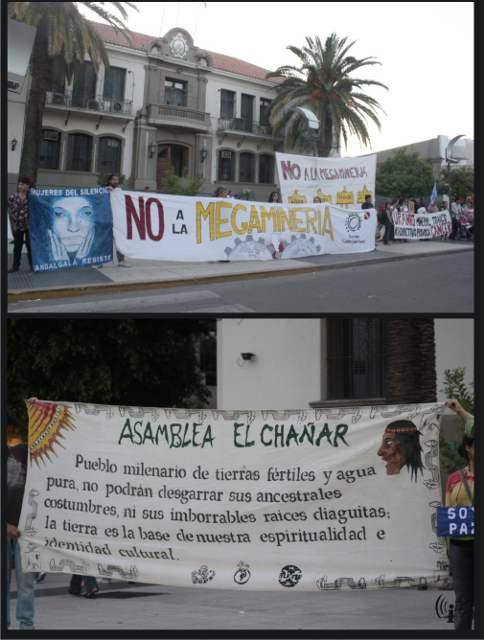 El pueblo de La Rioj...