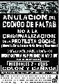 Contra la Impunidad y la Represion de Ayer y de Hoy - Marcha 7-12