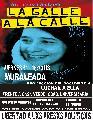 La Galle a la Calle! Libertad a Karina Germano!- Muraleada- proyecci�n 11/11