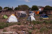 La demanda de tierra es un problema en Argentina