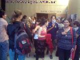Bain: 'Estamos muy felices de que producciones de ind�genas est�n en calle Corrientes'