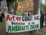 La Plata: En defensa �Del �ltimo pulm�n verde�