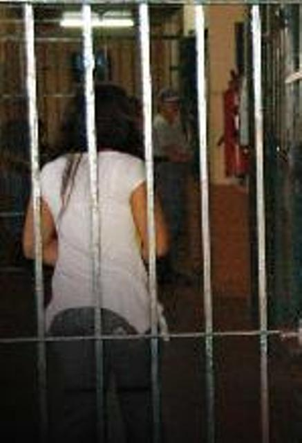 En cárcel de Posadas...