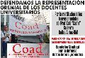 Marcha por la restituci�n de los fueros gremiales del Prof. Luis Calarota