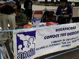 Comisi�n de Discapacidad de APDH: El lugar de los abrazos